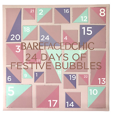 BareFacedChic 🛁 Bath & Body Bubbles Advent Calendar 🎄 Xmas Gift 🎁