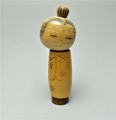 ESTATE Find JAPANESE Wood KOKESHI Doll  8""