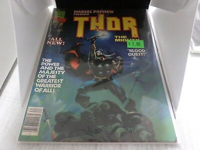 Marvel Preview Presents #10 Thor