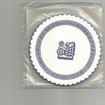 Sealed Never Opened Pack of Multiple ROYAL BANK OF CANADA Paper BAR COASTERS