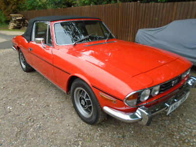 Triumph STAG - Manual overdrive -full mot, fully serviced, ready to go, Nice car