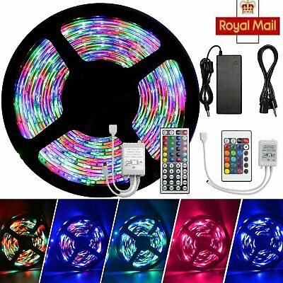 Waterproof 5-20 Meter Self Adhesive LED Strip Lights Adapter SMD Rope Kitchen