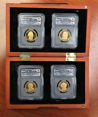 2008-S Presidential Proof Set ICG PR70 First Day Issue with Box