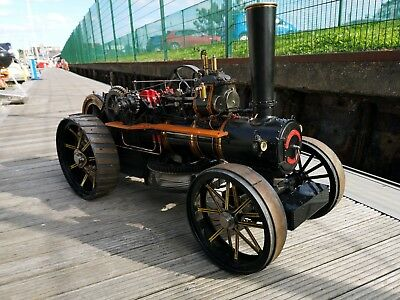 """2"""" Fowler live steam ploughing engine"""