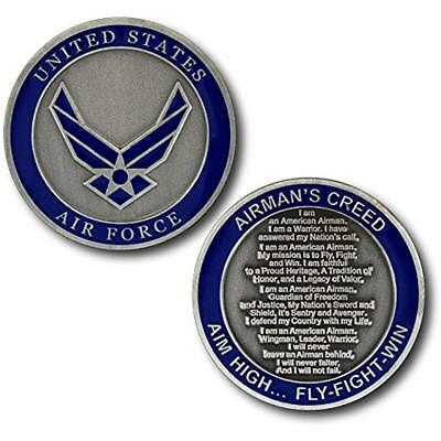 U.S. Air Coin Collecting Force The Airman's Creed Challenge