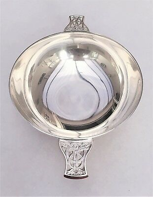 Silver Plated Quaich With Provenance