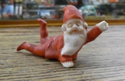 VTG 1920's Germany Bisque Pixie Santa Claus FIgure Christmas