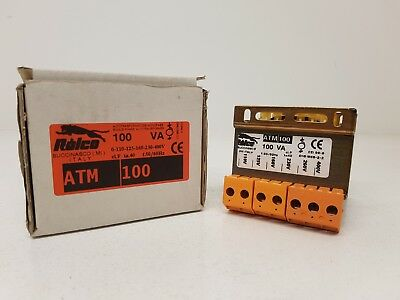 RELCO ATM100 Single phase autotransformer suitable for general use 100VA