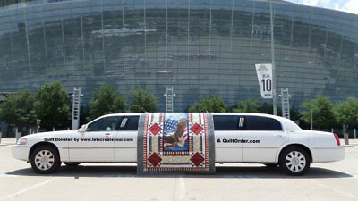 """Lincoln Town Car DaBryan Stretch 120"""" 5th Door """"Private"""" Used Limo tretch Limousine Ford Funeral Sprinter Chrysler MKT Buses Navigator Escalade"""