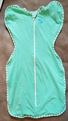 Love to Dream Swaddle up Summer Lite green  small