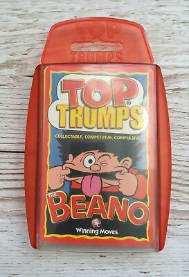 Top Trumps Beano Card Game 2003 Edition - Excellent Condition - Complete