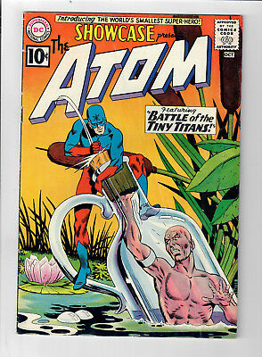 SHOWCASE #34 - Grade 5.0 - First appearance of RAY PALMER, THE ATOM!!