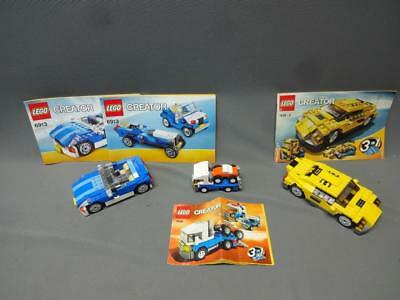 Lego Cool Cars 4939 Creator 3 In 1 With Box Instructions 899