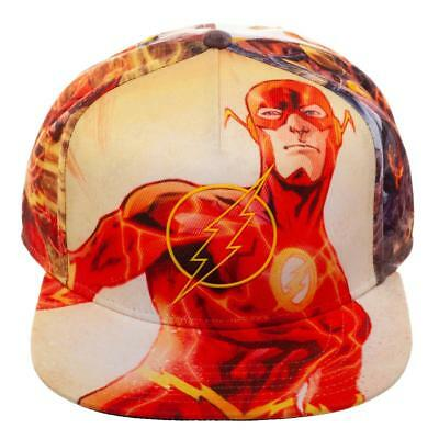 official photos genuine shoes sneakers for cheap DC COMICS THE Flash Logo Sublimated All Over Print Snapback Hat ...