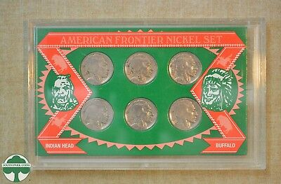American Frontier Nickel Set