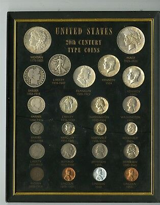 23 Assorted US Coins Of The 20th Century, Some Are Silver