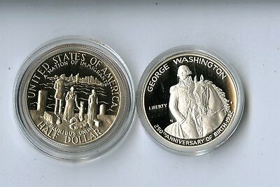 22 Commemorative Half Dollars, Statue Of Liberty Silver Dollar, Congressional