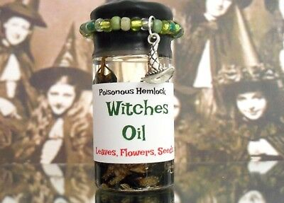 Magdalene's Bloom Witches Oil Hemlock Seeds Hoo-Doo Witchcraft WICCA Magick 20ml