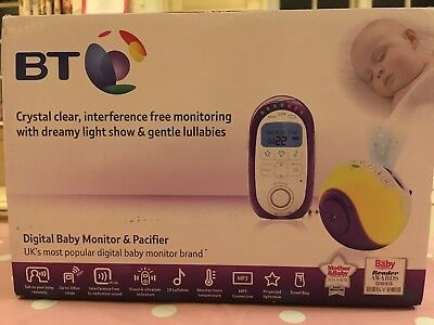 BT Baby Monitor & Pacifier