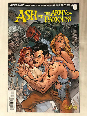 Ash vs. The Army of Darkness #0 - 1:50 Variant! VF/NM - J. Scott Campbell .2