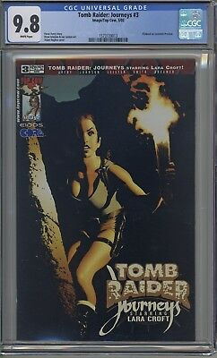 Tomb Raider : Journeys # 3 CGC 9.8 Adam Hughes Cover