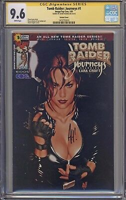 Tomb Raider : Journeys # 1 CGC 9.6 1B Cover SS Adam Hughes