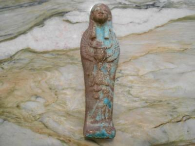 Ancient Egyptian Ushabti - Winged Scarab & Much More ***Special*** (Wus20181)