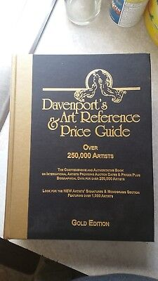 Davenport's Art Reference and Price Guide, Gold Edition (2003, Hardcover)