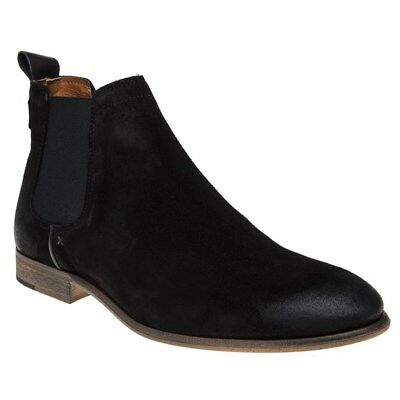 Mens Clarks Suede Elastic Sides Pull On Chelsea Ankle Boots Shoes Clarkdale Gobi 100% Original Clothes, Shoes & Accessories Boots