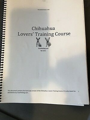 Chihuahua Lovers Training Course
