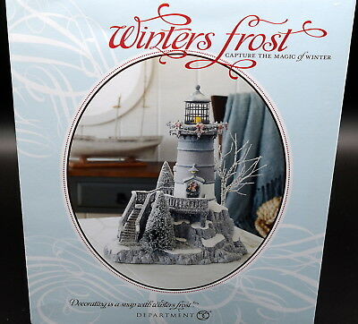 Department 56 Winters Frost / Light * LIGHTHOUSE * Brand New In Box