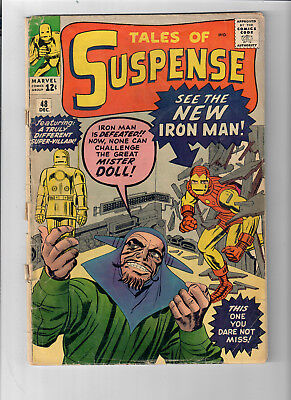 TALES OF SUSPENSE #48 - Grade 2.0 - New suit for IRON MAN!