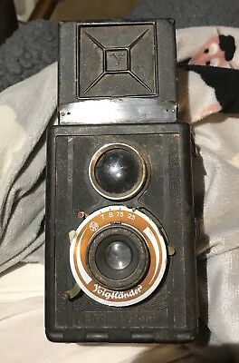 Voigtlander Antique Brilliant Reflex Camera