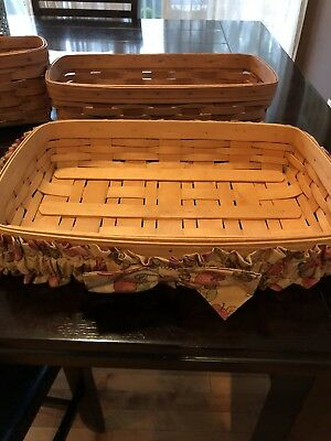 Longaberger Baskets ~ Lot Of 3!