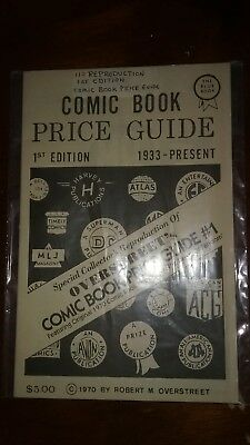 """Overstreet Comic Book Price Guide #1 """"Special Collector's Reproduction"""" -Reprint"""