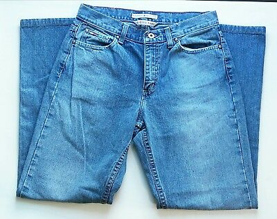 9bf9ffe5 TOMMY HILFIGER JEANS Women's Size 14 Jeans VTG Tommy Flag Classic Boot
