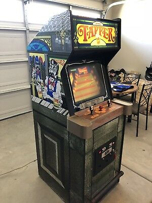 Bally Midway TAPPER arcade game - Color Side Art, Very Rare NR
