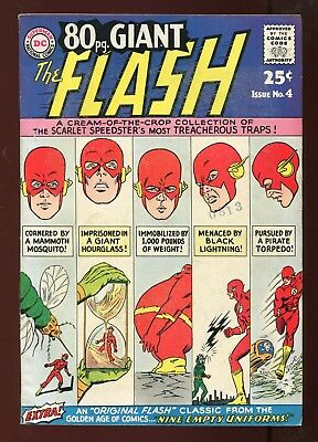 Eighty Page Giant #4 - The Flash - Golden-Age Flash Story - Higher Grade - 1964