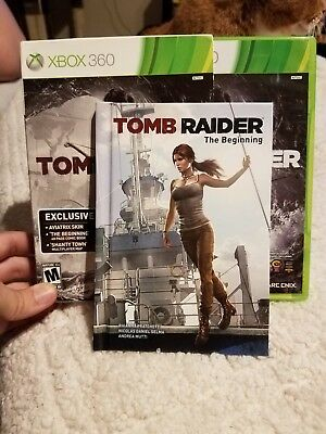 Tomb Raider 2013 Complete With Comic