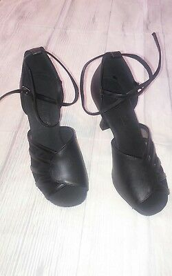Latin Salsa Very Fine Ballroom Competitive Dance Shoes Black