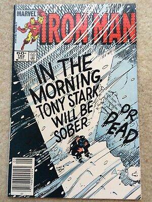 Iron Man #182 *In The Morning Tony Stark Will Be Sober...Or Dead!*
