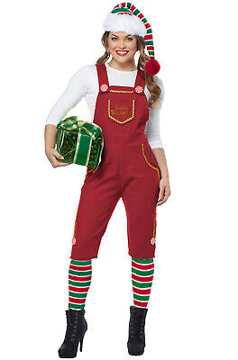 Brand New Santa's Workshop Elf Christmas Adult Costume
