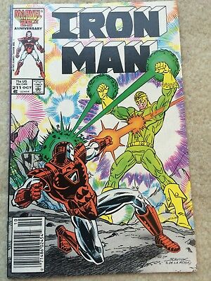 Iron Man #211 *Seeing The Light!* *99 Cent Auction Event L@@K