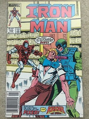Iron Man #202 *The Savage Goes Westl* *99 Cent Auction Event L@@K