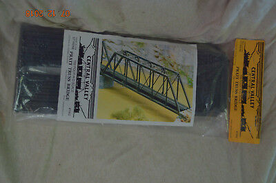Central Valley Model Works 150' Pratt Truss Bridge Kit, HO Scale #1902