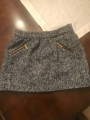 Janie and jack tweed skirt size 6 girl