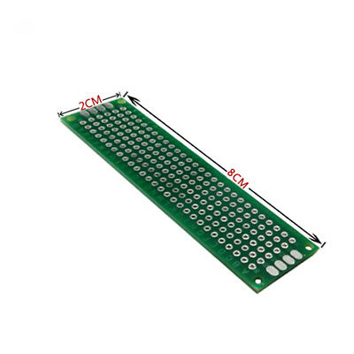5pcs 2x8cm Double Side Prototype PCB Universal Printed Circuit Board