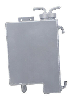 Aluminum Coolant Overflow Tank For Toyota Hilux Pickup Mk3 1989-1997 Silver