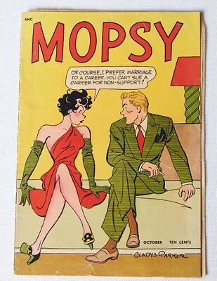 "MOPSY comic book, Volume 1, No.4, October 1948. ""OK"" condition"