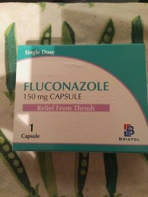 Fluconazole Fungal/ Thrush Treatment Tablet - 1 X 150mg FREE postage